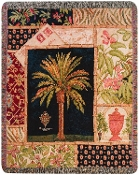 Caribbean Crest Throw