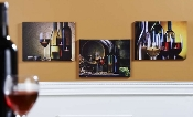 LED Light Canvas Print Set of 3