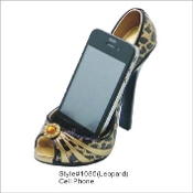 Leopard Print Phone Holder