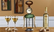 Giftcraft Cork Screw Table Clock