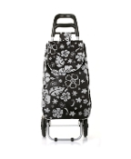 Nima Accessories - Flower Print Luggage Bag