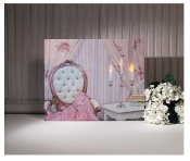 Shabby Chic Lighted Canvas