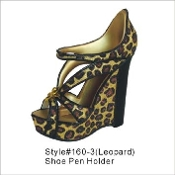 High Heeled Pen or Brush Holder