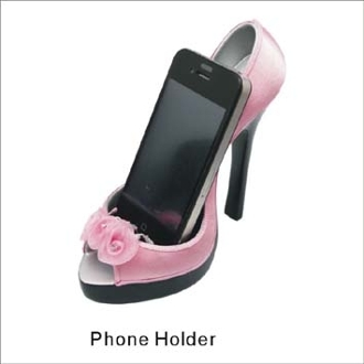 Flower Style Cell Phone Holder Shoe