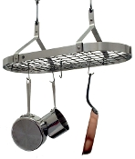 Contemporary Hanging Pot Rack