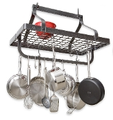 Gourmet Hanging Pot Rack