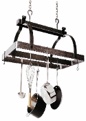 Classic Rectangle Hanging Pot Rack