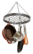 Décor Cottage Round Hanging Pot Rack