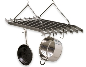 """Z"" Hanging Pot Rack"