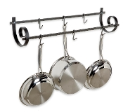 Décor Utensil Rack, Wall Mounted