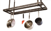 Hanging All Bar Pot Rack