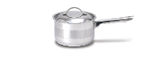 Cuisinox Gourmet® 3.8 qt Covered Saucepan