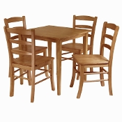 Groveland 5-pc Dining Table with 4 Chairs