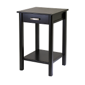 Liso End Table / Printer Table with Drawer and Shelf