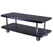 Evans TV Stand Curved Shelf