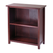 Milan Storage Shelf or Bookcase, 3-Tier, Medium
