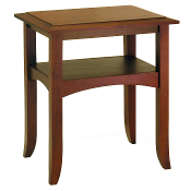 Craftsman End Table with Shelf