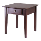 Rochester End Table with one Drawer, Shaker