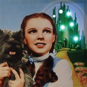 Dorothy from The Wizard of Oz Lighted Canvas Wall Art