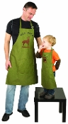 Daddy and Me Apron Set, Big Buck and Buck Wild, Set of 2