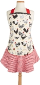Home to Roost Chicken Coop Print Apron