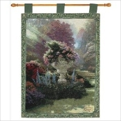 Thomas Kinkade The Garden Of Hope Tapestry