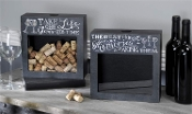 Chalk Talk Cork Storage Shadow Box, Available in Two Designs