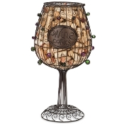 Epic Products Cork Cage 17-Inch Wine Glass, Large