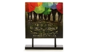 """Family"" Canvas Print Table Decoration"
