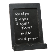 C.R. Gibson QRBH-14197 Wood Tablet/Recipe Book Holder, Black
