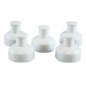 Reduce 5-Pack WaterWeek Sport Lids fits 10oz and 16oz bottles