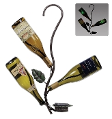 D.I.Y. Hanging Solar Wine tree