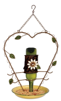 D.I.Y. Bird Feeder with Flowers and Vines