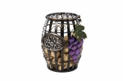 G! For Gifts Wine Barrel Cork Holder