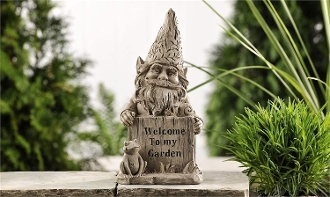 Giftcraft Welcome to My Garden, Gnome