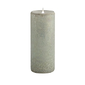 Pacific Accents Solare Crackled Mosaic Flameless Candle