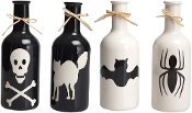 Scary Decorative Halloween Bottles