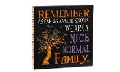 LED Lighted Halloween Stretched Canvas Wall Sign