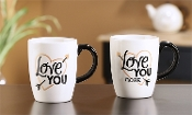 Note To Self Ceramic Matching Mug Set, Love you