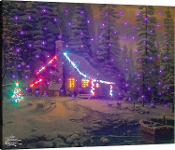 Manual Woodworkers & Weavers Christmas Retreat Lighted Artwork