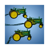 Kurt Adler UL 10 Bulb John Deere Tractor Light Set