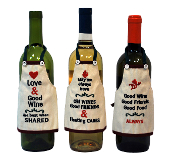 Kitchen Apron Wine Bottle Cover