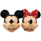 Disney Mickey And Minnie Heads S&P Shakers