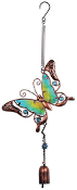 Sunset Vista Designs Colorful Butterfly Bouncy Wind Chime