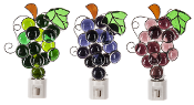 Colored Grape Bunch Shade Night Lights