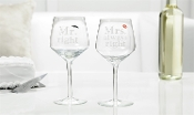 Mr. Right and Mrs. Always Right Matching Wine Glass Set