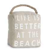 At The Beach, Door Stopper, 5 by 6-Inch