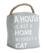 A House Is Not A Home Without A Cat, Door Stopper