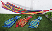 Giftcraft Single Cotton and Polyester Hammock