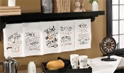 Giftcraft Note To Self Cotton Kitchen Towels